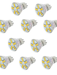 3w gu4 (mr11) a mené le projecteur mr11 15led smd 5730 300-350lm blanc chaud froid blanc 2700-6500k décoratif ac / dc 12v