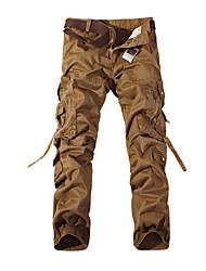 Per uomo Pantaloni da corsa Traspirante per Esercizi di fitness Corsa Cotone Terylene Taglia piccola Giallo Verde M L XL