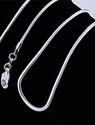 cheap -Single Strand Personalized Vintage Basic Fashion Punk Adjustable Hip-Hop Cute Style Euramerican Chain Necklace Jewelry Copper Silver