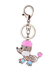 cheap -Key Chain Toys Key Chain Dog Metal Creative Chic & Modern 1 Pieces Girls' Boys' Christmas Birthday Valentine's Day Gift