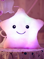 cheap -Star LED Lighting Pretend Play Stuffed Animal Plush Toy Stress Reliever Cute LED Lighting Creative Glow in the Dark Lovely Fluorescent