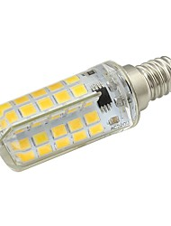 cheap -5W E14 80 SMD 5730 E14 Corn Chandelier Lighting AC220 - 240V 450-500Lm Warm /Cold White (1 pcs)