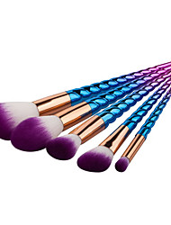 cheap -YZIMENG® 5pcs Unicorn Makeup Brushes Set Professional Blush/Eyeshadow/Lip/Eyebrow/Concealer/Powder Portable Synthetic Hair Make Up for Face