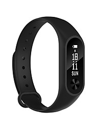 cheap -bluetooth Smart Band 0.86 OLED display wristband Heart Rate Monitor Smartband Health Fitness Tracker bracelet for Android iOS