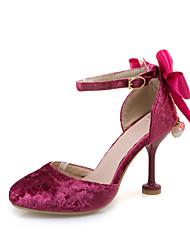 Da donna-Sandali-Matrimonio Formale Serata e festa-Comoda Cinturino alla caviglia Scarpe Flower Girl-A stiletto-Felpato-