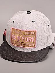 Недорогие -женская мода сладкий шнурок хлопка бейсболки шляпа солнца лоскутное случайный праздник лета все сезоны