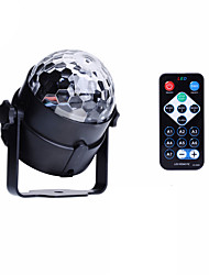 cheap -U'King® RGB 3x LEDs Magic Ball Stage Lighting for Car Decoration Ballroom KTV PARTY Home Decorative