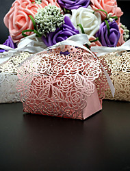50pcs Flower Candy Box Wedding Favors Box Party Favors Gift Box Party Decoration