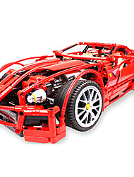 Недорогие -Конструкторы 1 pcs Автомобиль Творчество Изысканный и современный Мальчики Девочки Игрушки Подарок