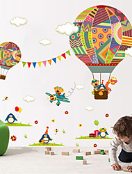 cheap -Wall Stickers Wall Decals Style Cartoon Balloon PVC Wall Stickers