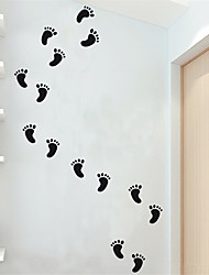 AYA DIY 30Little Feet Wall Stickers Wall Decals For Decoration Home Art Stickers 40*68cm