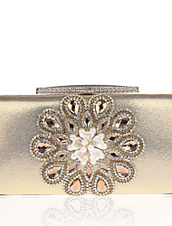 Недорогие -Жен. Мешки Полиэстер Вечерняя сумочка Искусственный жемчуг Цветы для Свадьба Для праздника / вечеринки Повседневные Официальные Офис и