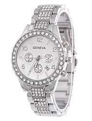 Dámské Módní hodinky Maketa Diamant Hodiny Křemenný imitace Diamond Nerez Kapela Stříbro Zlatá Růžové zlato