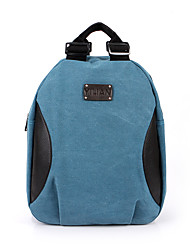 Unisex Canvas All Seasons Sports Casual Outdoor Office & Career Professioanl Use Shopping Shell Zipper LightBlue Gray Earth Yellow