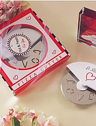 cheap -A Slice of Love Stainless Steel Pizza Cutter in Miniature Pizza Box Beter Gifts® Life Style