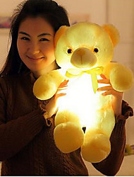 cheap -Teddy Bear Bear Teddy Bear LED Lighting Christmas Gift Christmas Toy Pretend Play Stuffed Animal Plush Toy Stress Reliever Cute LED