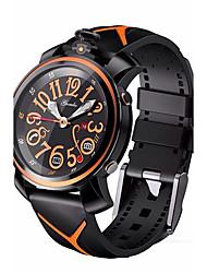 Hommes Montre de Sport Smart Watch Montre Tendance Montre Bracelet Quartz Quartz Japonais LED Télécommande Etanche Communication Silikon
