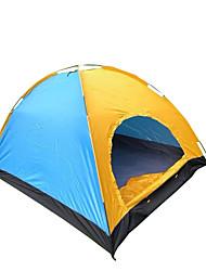 5-8 persone Tenda Singolo Tenda da campeggio Una camera Tende da campeggio formato famiglia Ompermeabile Antivento Traspirabilità per