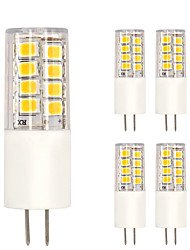 G4 Lâmpadas Espiga T 51 leds SMD 2835 Branco Quente Branco Frio 350lm 2700-3000 6000-6500K AC 220-240V