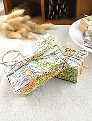 Cúbico Papel de Cartão Suportes para Lembrancinhas Com Caixas de Ofertas Bolsas de Ofertas Latinhas Lembrança Jarros e Garrafas para