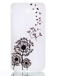 baratos -Capinha Para Samsung Galaxy J7 (2016) J5 (2016) Brilha no Escuro Estampada Capa Traseira dandelion Macia TPU para J7 (2016) J5 (2016) J5