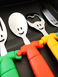 Plastica Forchetta da tavola Coltello da tavola Cucchiaio da zucchero Cucchiai Forchette Coltelli 4 pezzi