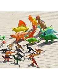 economico -Modellini manga e peluche Modello di visualizzazione Modellino e gioco di costruzione Giocattoli Originale Dinosauro Plastica Arcobaleno