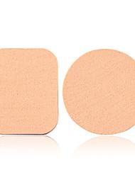 Applicatore per polvere Spugne naturali 1Set Rotonda / Quadrato 6*4*2 Normale