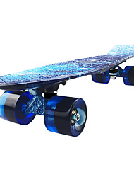 cheap -22 Inch Cruisers Skateboard Professional PP (Polypropylene) Blue