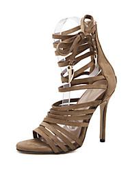 Homme-Habillé Soirée & Evénement-Noir Marron Vert Armée-Talon Aiguille-Confort-Chaussures à Talons-Similicuir
