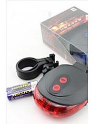 Radlichter Fahrradrücklicht LED Radsport Wasserdicht Kompakte Größe Einfach zu tragen Lithium-Batterie Lumen Batterie Blau Rot Mehrfarbige