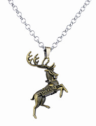 cheap -Men's Women's Animal Unique Design Logo Style Dangling Style Pendant Necklace Jewelry Alloy Pendant Necklace ,