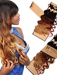 baratos -Cabelo para Trançar Onda de Corpo / Onda Profunda Outros / Extensões de Cabelo Natural 1pack Tranças de cabelo Diário Cabelo Brasileiro