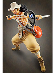 cheap -Anime Action Figures Inspired by One Piece Usopp PVC 24 CM Model Toys Doll Toy