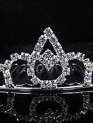 cheap -Gorgeous Rhinestones Wedding Bridal Tiara/ Headpiece Elegant Style