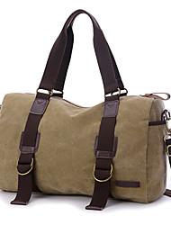Unisex Bags All Seasons Canvas Shoulder Bag for Casual Formal Outdoor Office & Career Professioanl Use Blue Black Coffee Khaki Dark