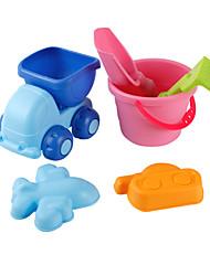 Tue so als ob du spielst Strand & Sandspielzeug Spielzeugautos Strand Spielzeug Spielzeuge Auto Neuheit Unisex 6 Stücke