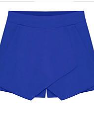 2014 nouvelles femmes d'été&# 39; croix avant couleur bonbon pièce pantalon short décontracté Version été coréen Culottes