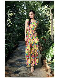 flores simples vestir colete saia do vestido Sanya férias especiais