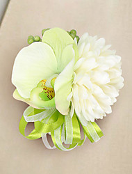 Wedding Flowers Free-form Lilies Peonies Boutonnieres Wedding Party/ Evening Satin