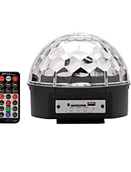 U'King® DMX512 SD Card MP3 Speaker Crystal Magic Ball Stage Light with Remote Control 1pcs