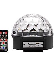 u'king® dmx512 SD-Karte mp3-Lautsprecher Kristall magische Kugel Bühne Licht mit Fernbedienung 1pcs