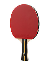 2 Stelle Ping-pong Racchette Ping Pang Gomma Manopola  lunga Brufoli 1 Racchetta 1 Borsa da ping pong