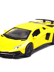 cheap -Toy Cars Truck Toys Simulation Music & Light Car Metal Alloy Metal Pieces Kids Unisex Gift