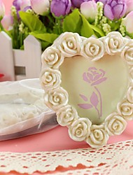 cheap -Resin Photo Frame Place Card Holder 8.5*8.5*1.8cm Beter Gifts® Wedding Decoration
