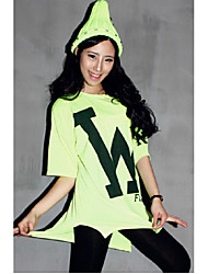 W wild new Korean letters printed loose large size women short-sleeved T-shirt female