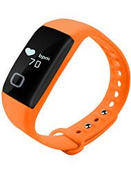 abordables -Bracelet à puce iOS Android Moniteur de Fréquence Cardiaque Etanche Calories brulées Pédomètres Enregistrement de l'activité Santé Suivi