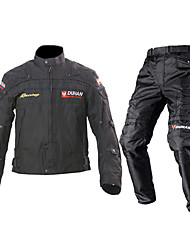 cheap -DUHAN Jacket Pants Set Textile All Season Windproof Motorcycle Kidney Belts