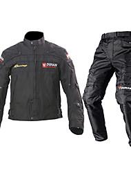 economico -DUHAN Giacche Pants Set Tessuto Tutte le stagioni Antivento Cinture renali motociclistiche