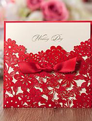 Wrap & Pocket Wedding Invitations 50-Invitations Sets Save The Date Cards Envelope Envelope Sticker Program Fan Wedding Menu Invitation